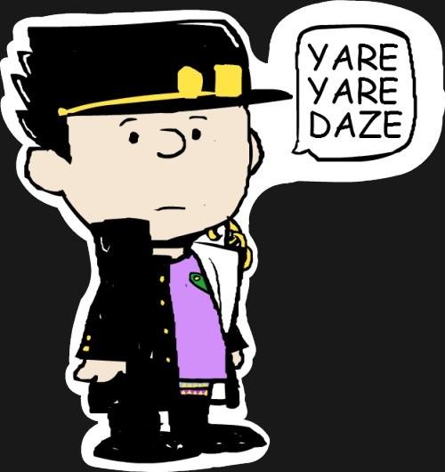 Yare Yare Daze Charlie Brown